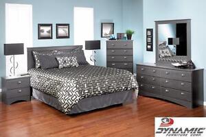 "REDUCED!! Brand NEW ""Carrara Grey"" Dresser & Mirror!"