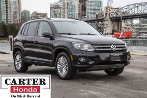 2015 Volkswagen Tiguan Special Edition + NAVI + AWD + LOW KMS +