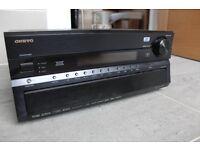 Onkyo TX-SR876 Home Cinema amplifier.