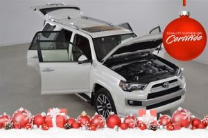 2017 Toyota 4Runner Limited 4x4 GPS+Cuir+Toit Ouvrant 7 Passager