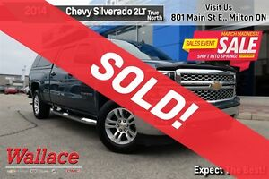 2014 Chevrolet Silverado 1500 2LT/TRUE NORTH PKG/CAB CAP/HEATED