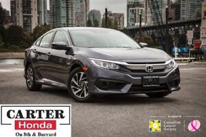 2017 Honda Civic EX w/ HS + SUNROOF + PUSH START + ALLOYS!