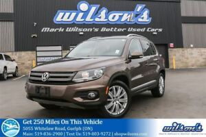 2015 Volkswagen Tiguan HIGHLINE AWD SUV! LEATHER! SUNROOF! REAR