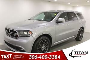 2016 Dodge Durango R/T|AWD|Heated Leather|Nav