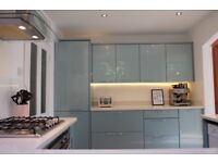 EX-WICKES ESKER AZURE KITCHEN - GREAT CONDITION - can include Quartz worktops - see price options