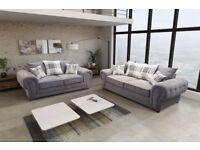 ** BLACK FRIDAY DEALS 2017 * LUXURY VERONA CORNER SOFA AND SOFA SETS *UK DELIVERY AVAILABLE