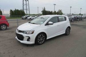 2017 CHEVROLET SONIC 5 LT GROUPE RS TOIT OUVRANT TURBO MAG