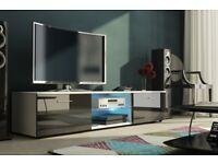 MODERN HIGH GLOSS TV UNIT, TV CABINET , TV STAND, HIGH QUALITY, NEW, FLATPACK