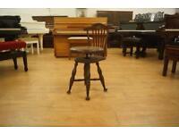 Antique music chair
