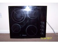 hotpoint electric hob