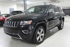 2015 Jeep Grand Cherokee LIMITED 4X4 *CUIR/NAV/CAMERA RECUL*