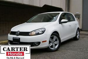 2013 Volkswagen Golf 2.5L Highline + LEATHER + + SUNROOF!