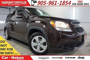 2014 Chevrolet Orlando 1LT| REMOTE START| BLUETOOTH| SIRIUS XM