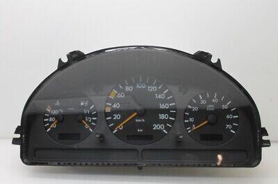 Mercedes W163 ML Tacho Tachometer Kombiinstrument Benziner 200 km/h A1635400947