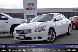 2013 Nissan Maxima 3.5 SV V6 one owner loaded!!