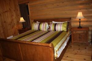 Chalet for rent-meeting with family and friends spa and sauna West Island Greater Montréal image 8