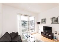 Modern 1 Bed Apartment in South Quay, Canary Wharf, Private Balcony, Concierge, close to DLR- SA