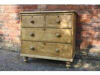 Beautiful Antique Pine Chest of Drawers