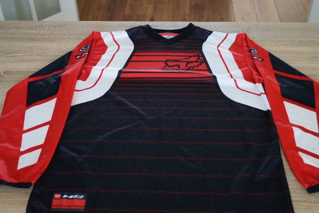 Fox Motocross Shirt and Trousers