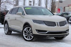 2016 Lincoln MKX Reserve 2.7L Ecoboost/Tech/Driver Asst/Luxury P
