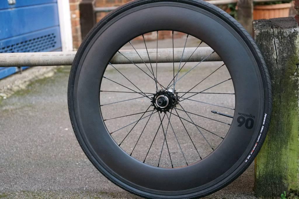 blb notorious 90 carbon fixie wheel