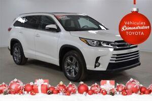 2017 Toyota Highlander Limited Demo, gps, cuir, 327$/2sem