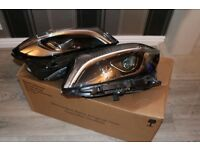 MERCEDES A CLASS A176 W176 FULL LED XENEON GENUINE PAIR OF HEADLIGHTS COMPLET INCLUDINGBALLAST PACKS