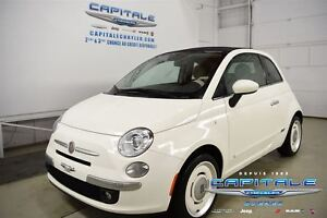 2015 Fiat 500C LOUNGE CABRIO*CUIR*MAGS*CLIMATISATION
