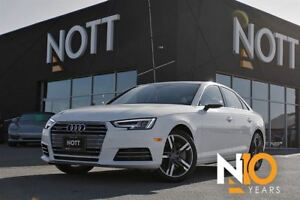 2017 Audi A4 2.0T Technik, HUD, Nav, Virtual Cockpit, 360 Cam