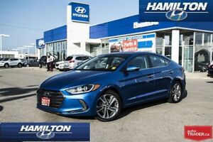 2017 Hyundai Elantra | LIMITED | NAVI | BACK UP CAM | LEATHER |