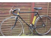 """BSA Gold Crest Fixed Gear Bicycle. 22"""" Top tube. 22.5"""" Seat tube."""