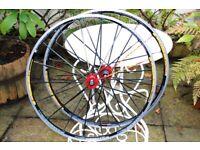 2013 Mavic Ksyrium SL Road Racing Wheelset Wheels Shimano 11 sp Clincher 700C Good Used Condition