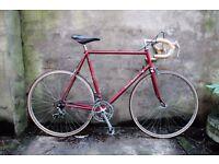 RALEIGH SIROCCO, 23.5 inch, Reynolds 501, racer racing road bike, 10 speed