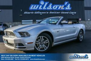 2013 Ford Mustang V6 PREMIUM CONVERTIBLE! LEATHER! POWER DRIVERS