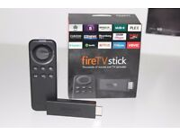 "Amazon Fire Stick ""Fully Loaded Kodi"" Completely New!!!!! Kodi 16.1!! The Beast Build!"