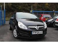 VAUXHALL CORSA 1.2i 16V Life 3dr [AC] **TIMING CHAIN DONE++2 OWNERS** (black) 2009