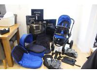 iCandy Peach Cobalt Pushchair, Carrycot & LOTS of extras