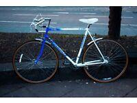 """Emmelle Road bike, Vintage, 22"""" Frame, 10 gears, Excellent condition, Mudguards,"""