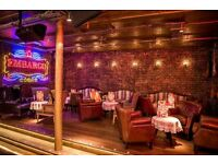 Regular nightclub waitress opportunity in Chelsea!
