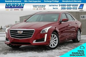 2015 Cadillac CTS Luxury*HAIL DAMAGE ($4000)*     FINANCING AS L Moose Jaw Regina Area image 1
