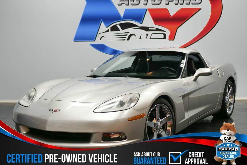 2006 Silver Chevrolet Corvette     C6 Corvette Photo 1