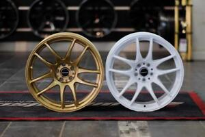 """FRS / BR-Z / 86 SUPERSPEED SS02 CR Style Staggered Wheels 17"""" + 18"""" ***Wheelsco***"""