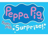 Peppa Pig's Surprise @ Woking- Family ticket (2 Adults 2 Children) Stalls Row D £70.45