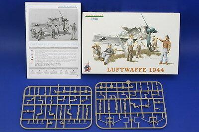 EDUARD 8512 WWII Luftwaffe 1944 Fighter Crew Figuren in 1:48
