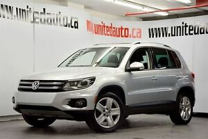 2013 Volkswagen Tiguan 2.0 TSI HIGHLINE / 4MOTION / LEATHER / PA
