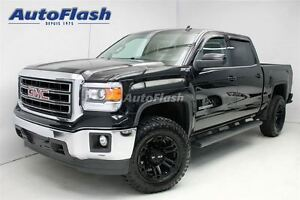 2014 GMC Sierra 1500 SLE Crew-Cab 5.3L*Cuir/Leather*Lift-Kit*Nav