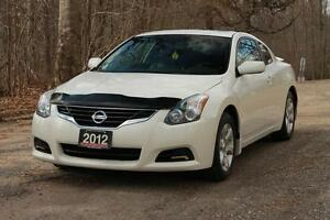 2012 Nissan Altima 2.5 S | Sunroof + Leather + CERTIFIED + E-...