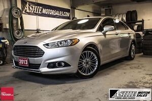 2013 Ford Fusion LEATHER! SUNROOF! BACK-UP CAMERA!