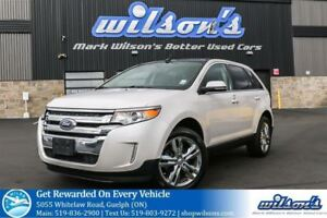2014 Ford Edge LIMITED AWD SUV! LEATHER! NAVIGATION! PANORAMIC S