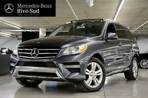 2012 Mercedes-Benz ML350 BlueTEC, Toit pano, GPS,